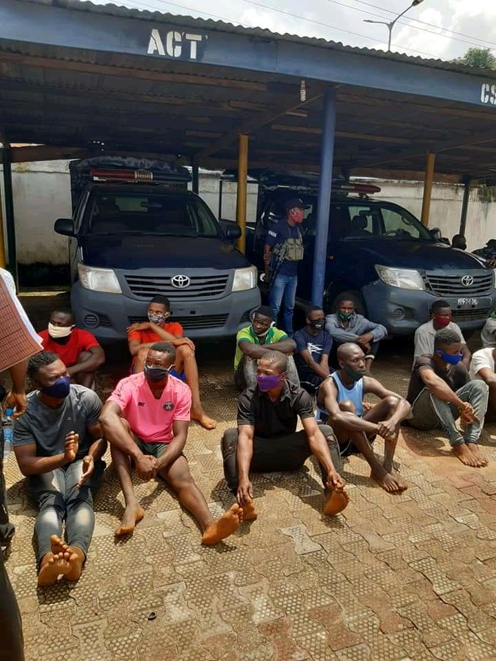 Police Arrests 103 Cultists In Anambra (Photos)