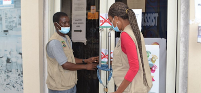 Lagos Seals Off Unauthorised COVID-19 Test Centre