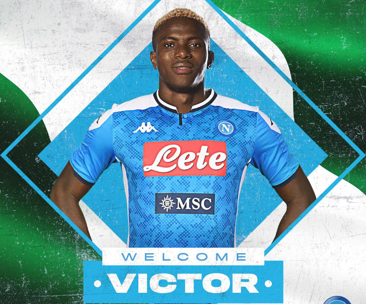 Osimhen Officially Seal Napoli Move