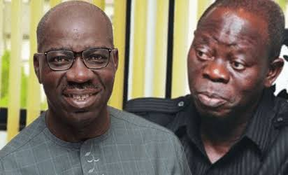 Obaseki Is A MoU - Oshiomhole Beg Edo People