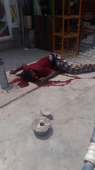 Cultist Murder Young Man In Ojota, Lagos State (Graphic Photos)
