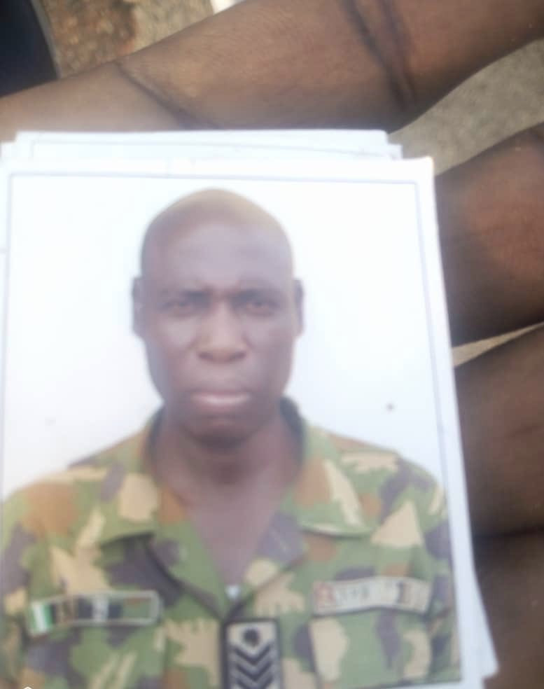 Military Officer Murdered By Hoodlums In Enugu (Photos)