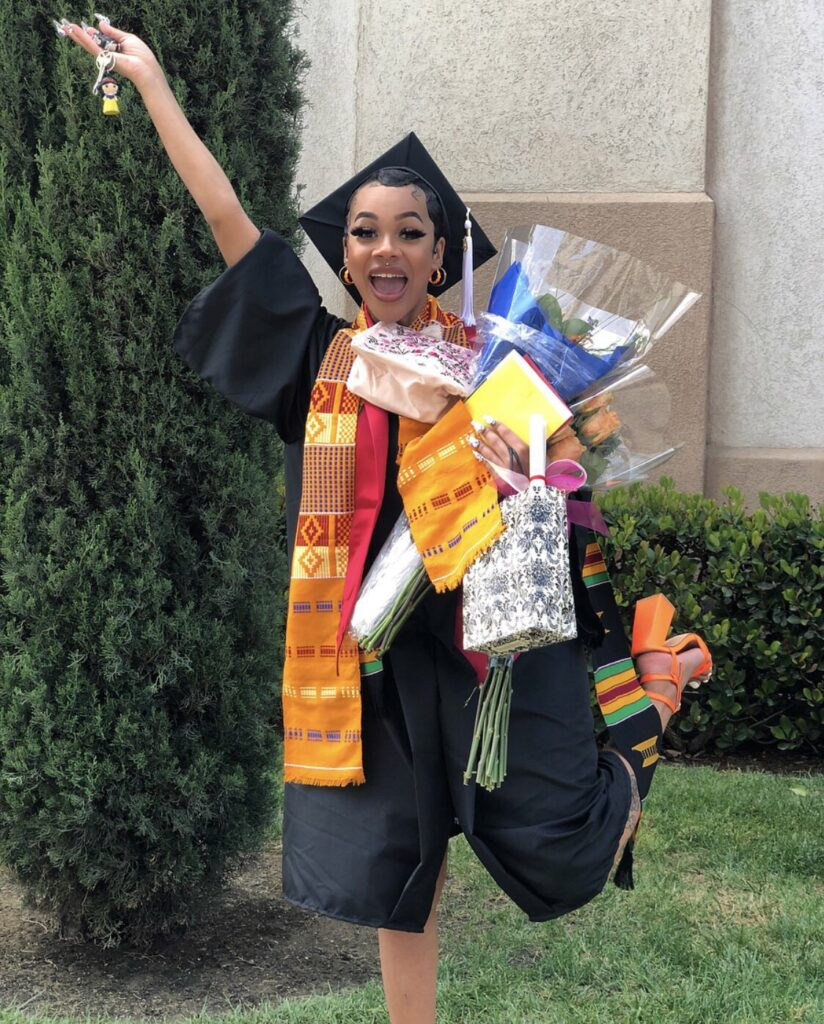 Lady Rejoices As She Graduates, Makes It Clear She's Not Stopping Prostitution
