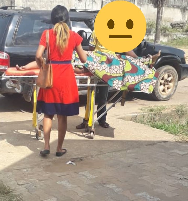 Lady Questions Jesus As Her Attempt To Raise The Dead Failed (Photos)