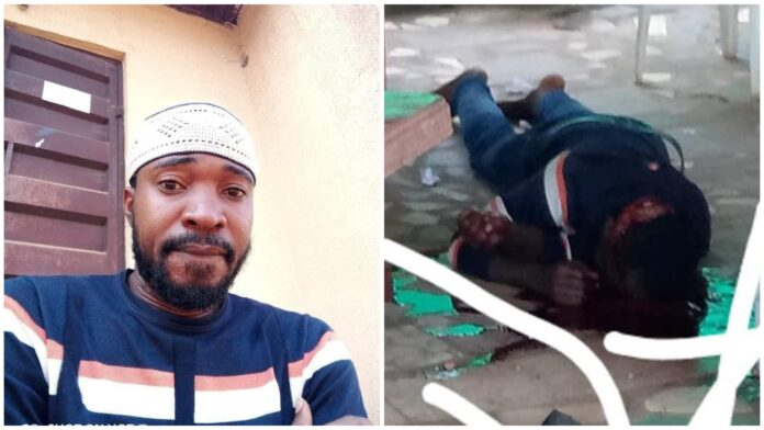 Man Gruesomely Murdered By Cultist In Asaba (Photos)