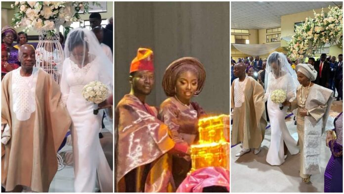 See Lovely Photos From Bishop Oyedepo's Daughter's Wedding