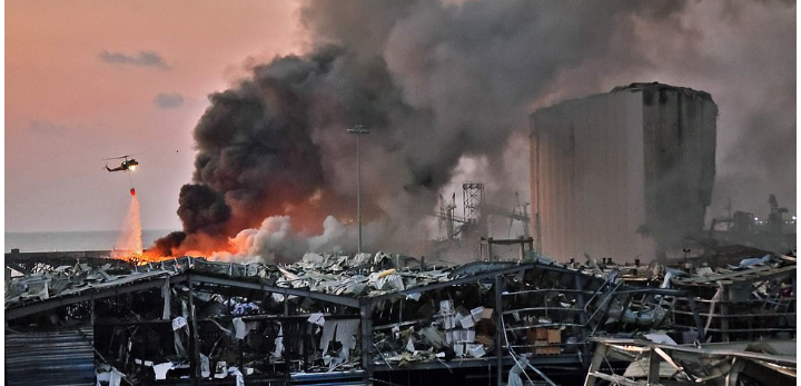 Death Toll In Beirut Explosion Rise To Over 100 With More Than 4000 Injured