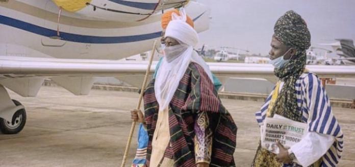 Sanusi Meet With El-Rufai In Kaduna (Photos)