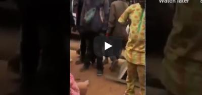 LAUTECH Student Runs Mad After Jumping Off A Bike In Ekiti