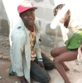 Man Caught Red-handed Defiling An 8-year-old Girl In Delta (Photos)