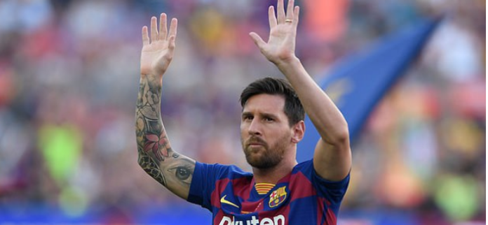Lionel Messi's Father Is Already In Man City Negotiating A 2 Year Deal For Him