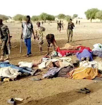Some of the victims of Boko Haram massacre in Gubio village 1 1