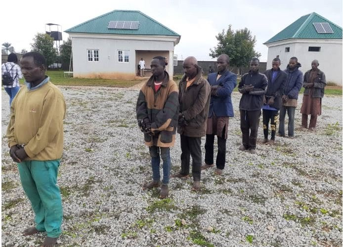 Some Bandits Terrorising Southern Kaduna Arrested (Photos)