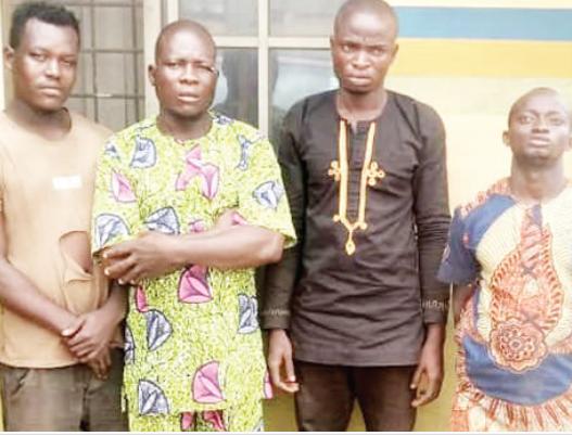 Police Arrests 4 Men For Beating Police Officer To Death In Ogun State