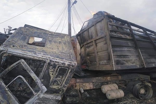 Tanker Explodes In Niger, Leaving Several Houses, Shops Burnt