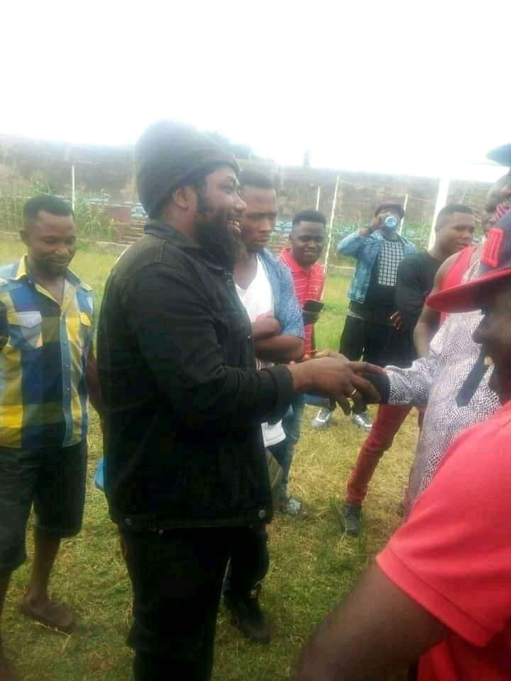 PHOTOS: Benue State Most Wanted Terrorist Surrenders