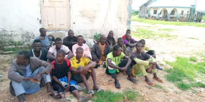 Troops Arrests Bandits