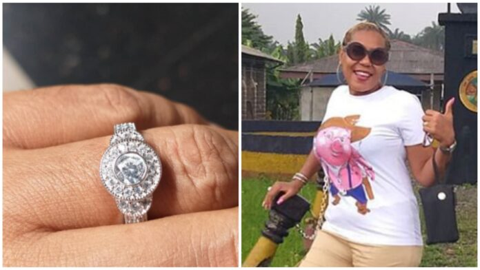 50-year-old Nollywood Actress Shan George Is Engaged