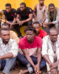 Police Parade 17 Cultists, Female & Male Robbers, Assassins