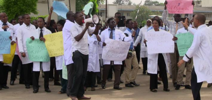 Health Workers To Embark On Nationwide Strike From Midnight