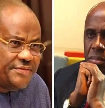 """Wike blows Amaechi: """"You Should Be Jailed By Now, Not A Minister"""""""