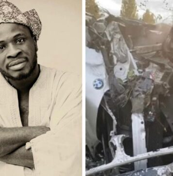 Comedian Crazeclown Survives Ghastly Motor Accident (Video)
