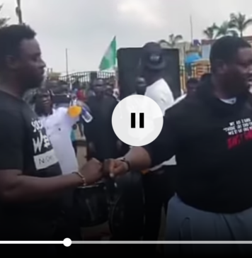 Pastor Adeboye Son Leads #EndSARS Service Outside Lagos Government House