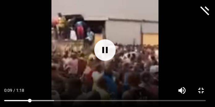 Thugs Break Warehouse In Monkey Village Maza Maza, Packs COVID19 Palliatives