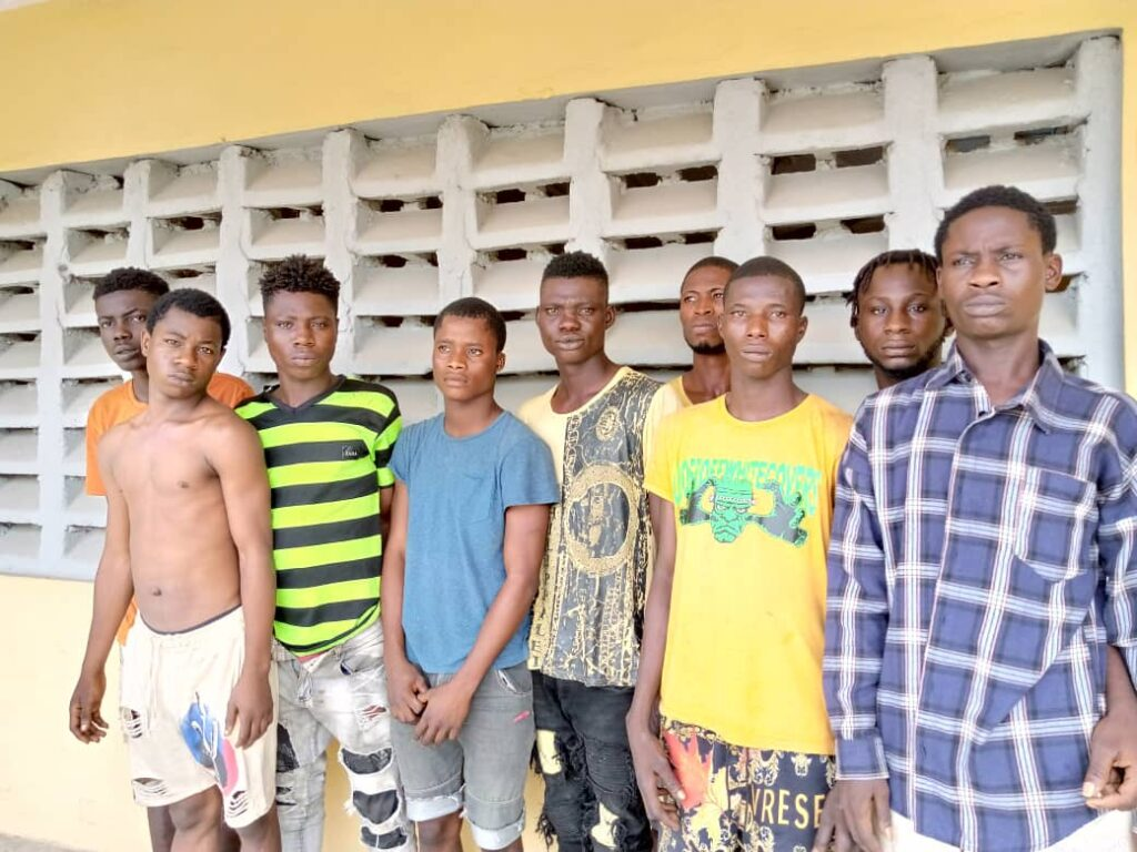Police Arrests Cultists, Recover Arms And Charms In Lagos
