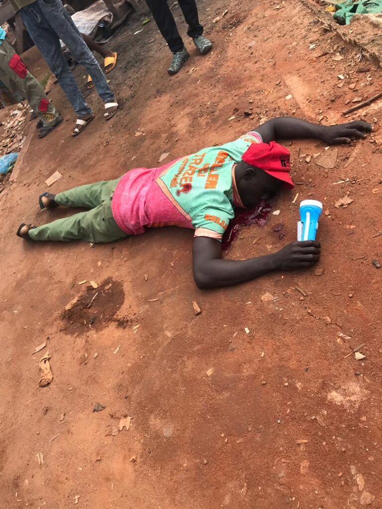 Dead Bodies On The Streets As Cult Clash Turns Bloody In Benin (Graphic Photos/Video)