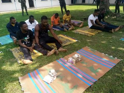 Notorious Criminal Gang Arrested In Cross River State (Photos)