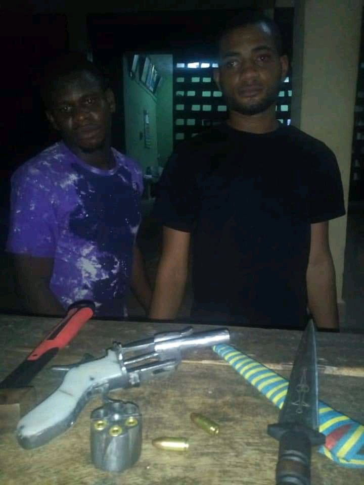 Police Arrest 2 Robbery Gang, Recover Arms And Ammunition (Photos)