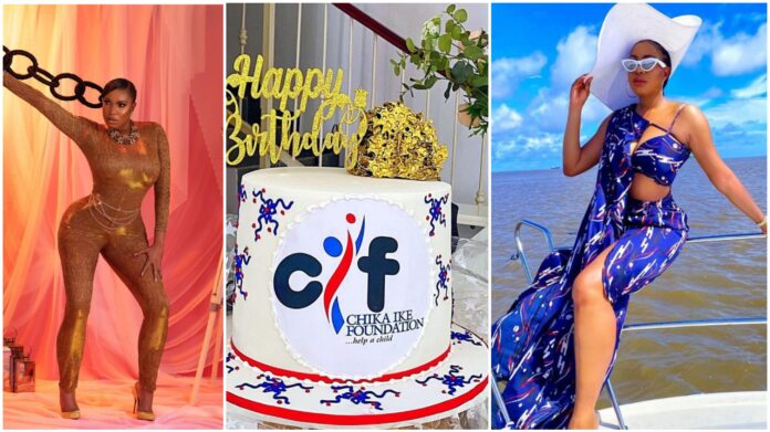 Chika Ike Celebrates Her 35th Birthday (Photos)