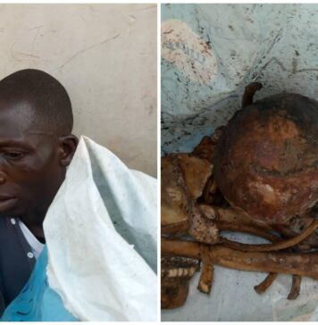Man Caught With Sack Bag Containing Human Parts In Delta (Photos)