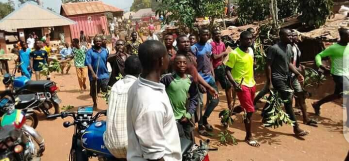 Angry Youths Protest As 7 Men Lost Their Manhood In Benue Community