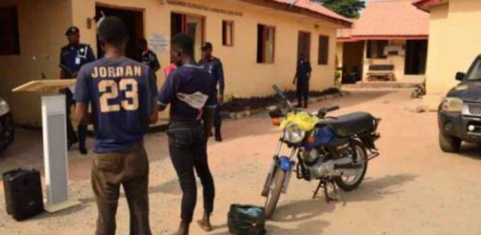 2 Robbery Suspects Terrorising Ondo Residents Arrested
