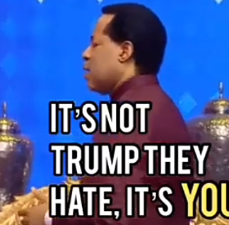 VIDEO: Americas Don't Hate Trump, It's The Christians - Pastor Chris Oyakhilome