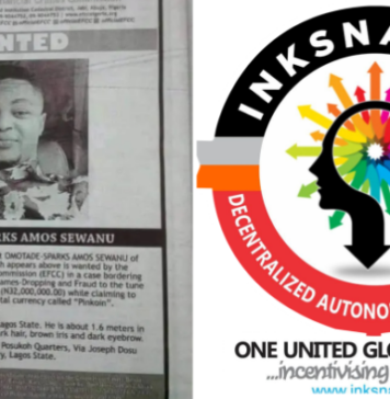 EFCC Declares Inventor Of Inksnation Pinkoin Wanted