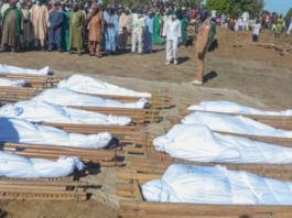 Tears As 43 People Massacred By Boko Haram Terrorists Are Laid To Rest (Photos)