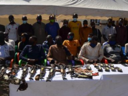 Police Parade 35 Suspects Over Kidnapping And Arm Robbery