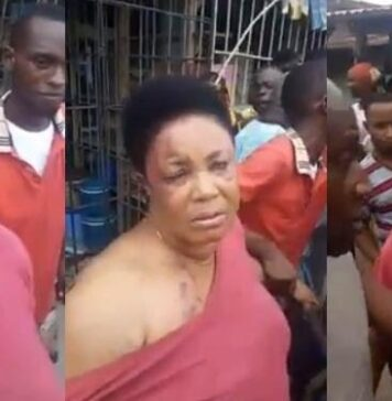 Woman Return Manhood She Stole From A Man In Aba