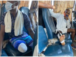 Lekki Tollgate Victims And Relativs Of Dead Protesters Storm Lagos Judicial Panel (Photos)